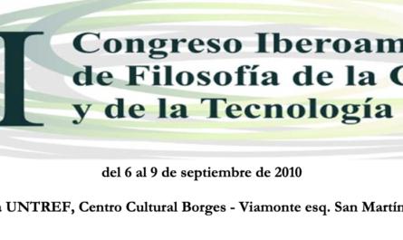 Congreso Iberoamericano de Filosofía de la Ciencia y la Tecnología