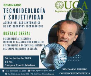 Tecnoideología y subjetividad UCA Dessal CEsis